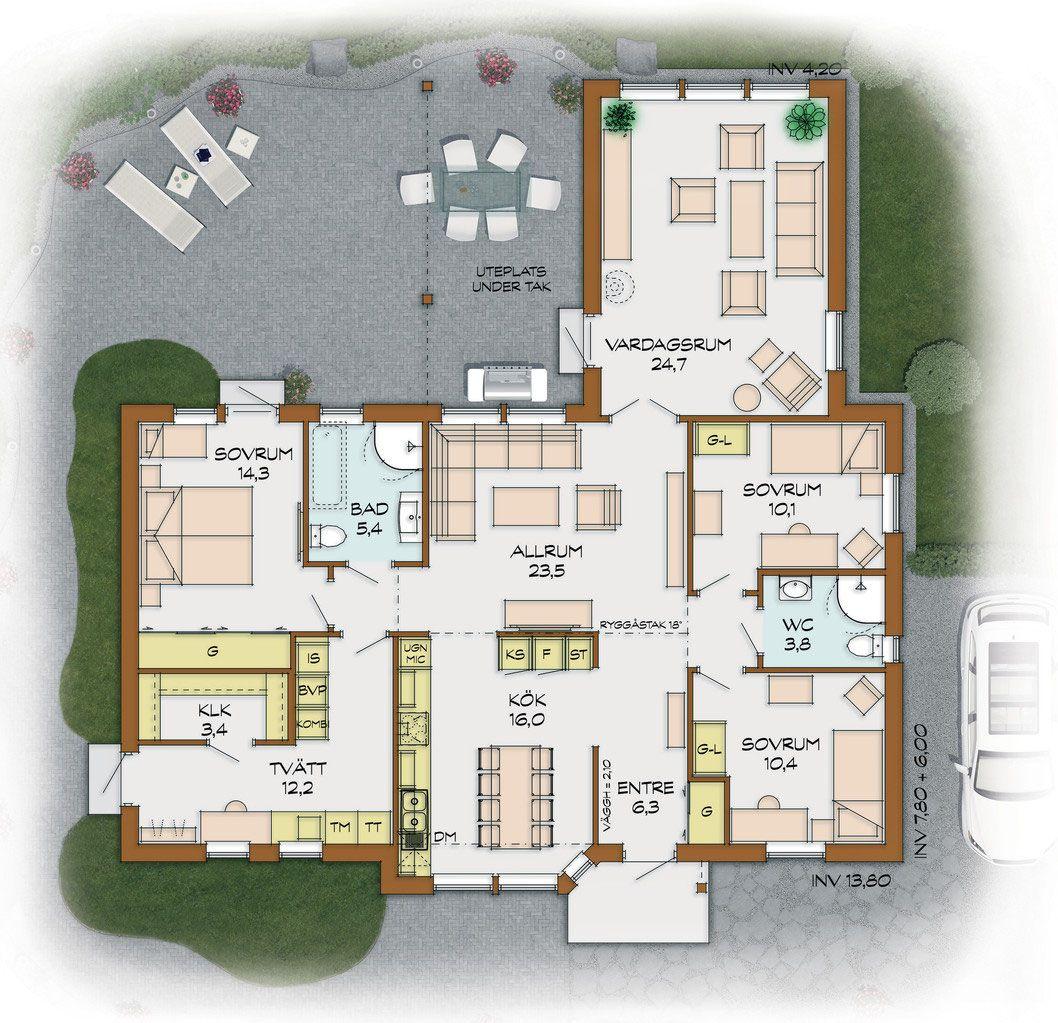 image.jpg (1058×1023) Schwedenhaus, Haus