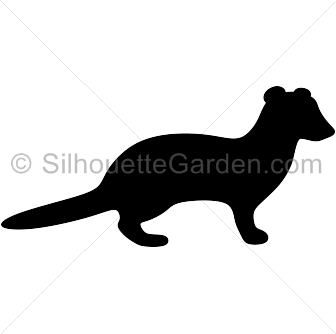 25+ Weasel Clipart Black And White