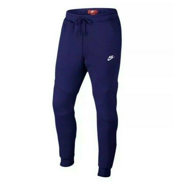Nike tech fleece cuffed joggers pants 805162 590 regency