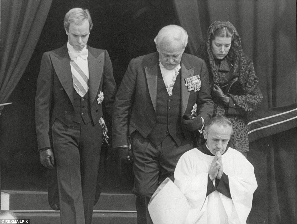 Grace Kelly Her Coffin