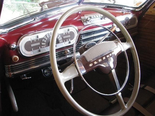 1948 Oldsmobile With Images Dashboard Car