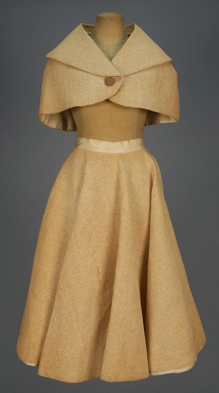 LOT 758 NOVELTY CAPELET and CIRCLE SKIRT, 1957.