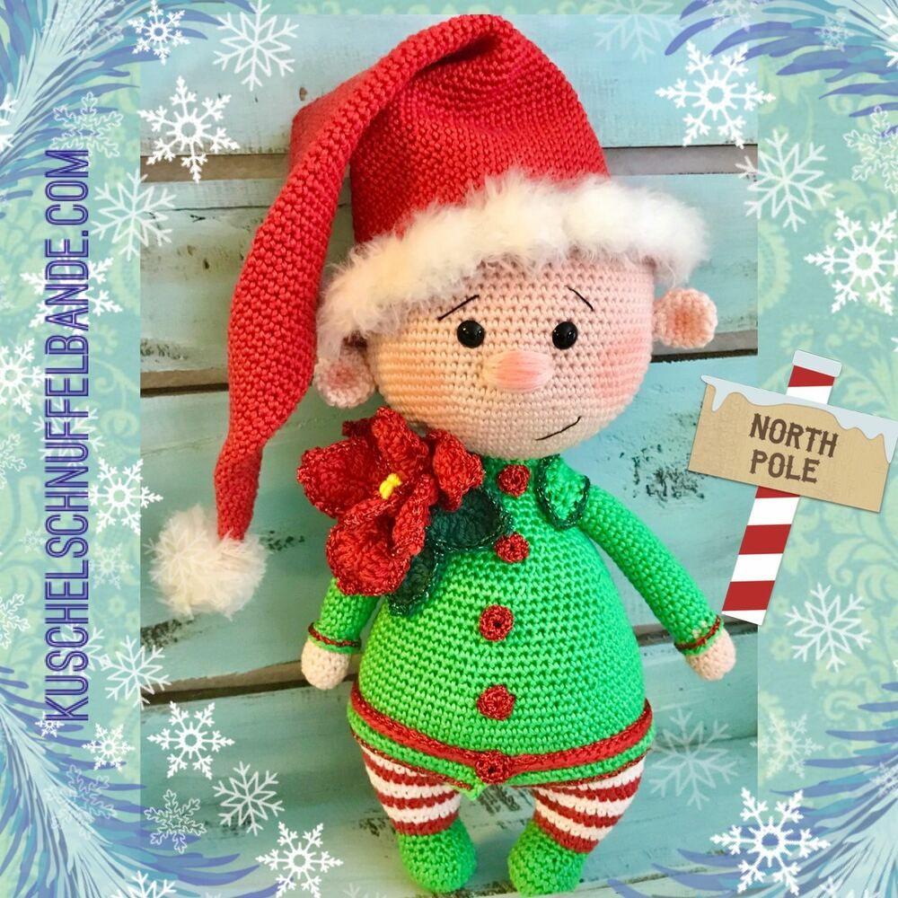 Weihnachtself häkeln #dollhats