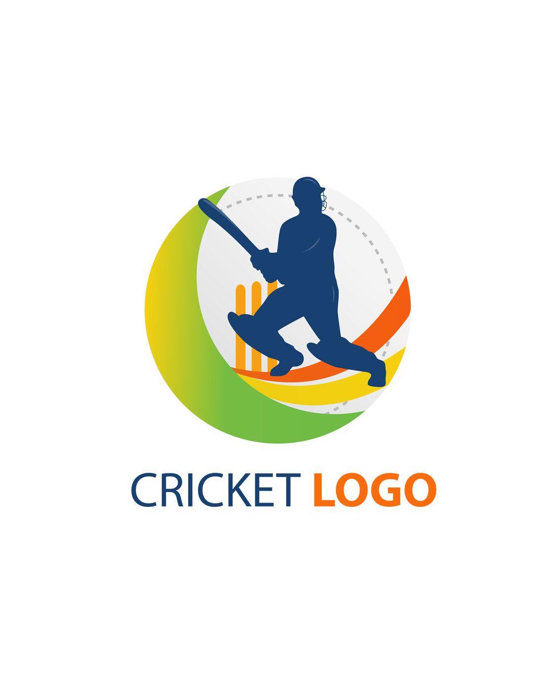 Cricket Vector Logo Templates Cricket Logo Team Logo Design Cricket Logo Design