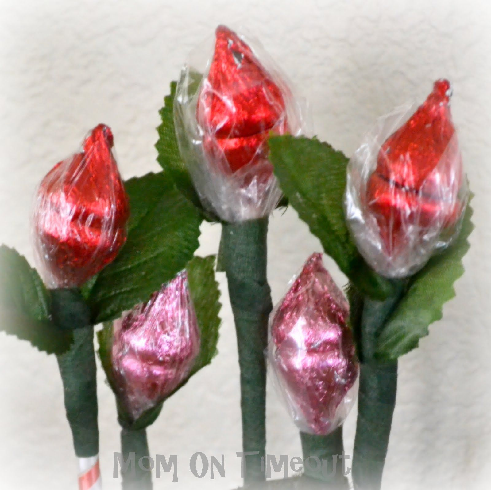 Hershey Kiss Roses I Made These They Were Really Cool Almost