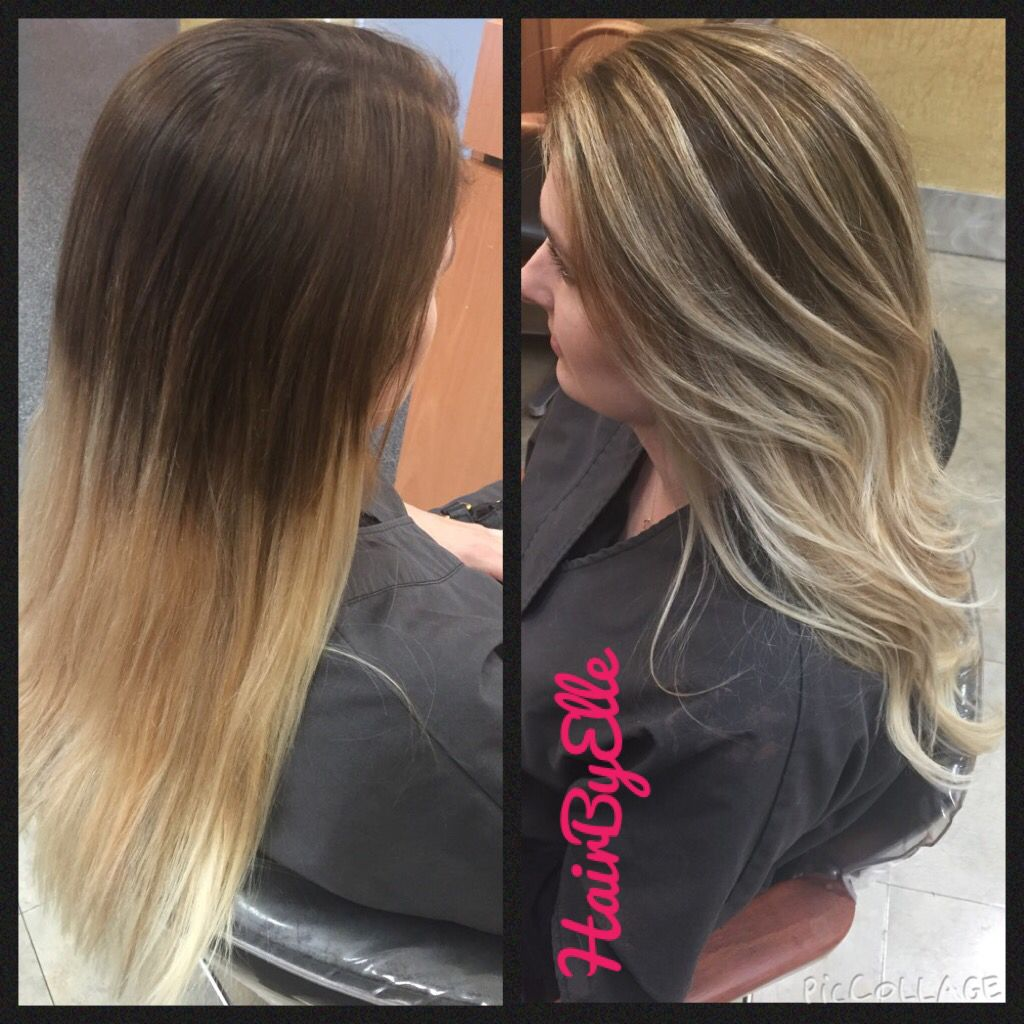 Before And After Major Balayage Correction Hair By Elle And