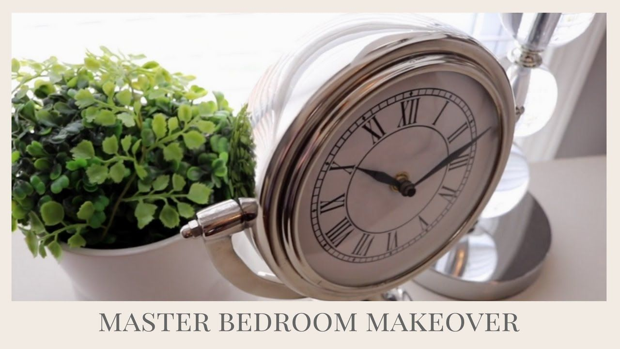 Master Bedroom Makeover Do It On A Dime Collab Youtube Master Bedroom Makeover Bedroom Makeover Trendy Home Decor