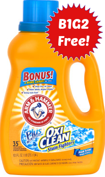 Print This Arm Hammer Laundry Coupon For A B1g2 Free Sale At Cvs