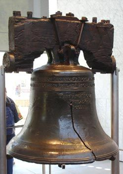 The Liberty Bell, Philadelphia, PA Iconic symbol of American Independence