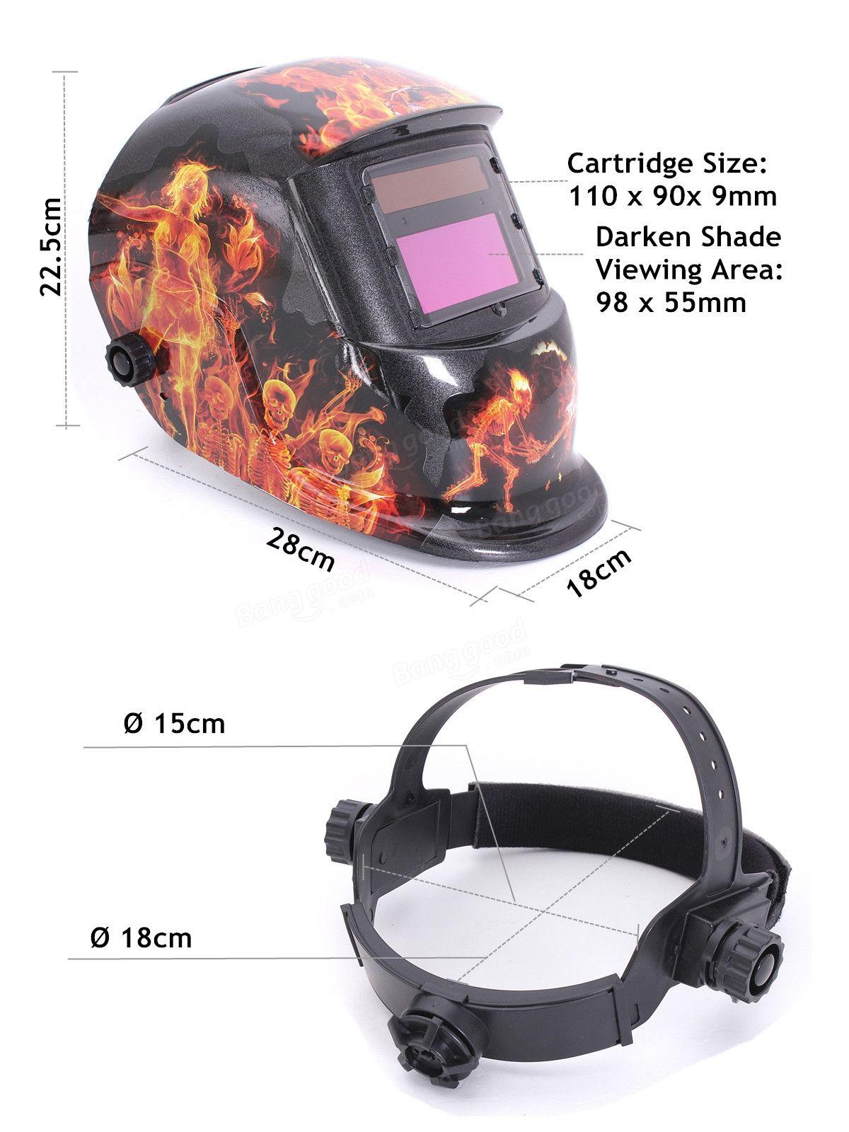 Ghost Fire Solar Auto Darkening Welding Helmet Arc Tig mig Grinding Welders Mask Sale - Banggood.com
