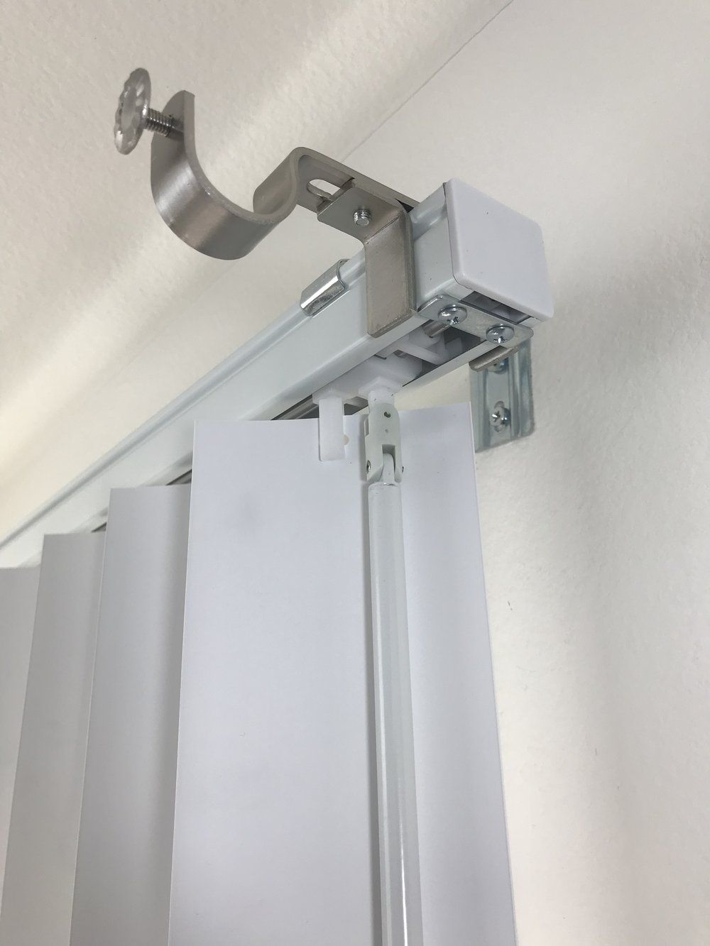 Outside Mounted Blinds Curtain Rod Bracket Attachment The Nono