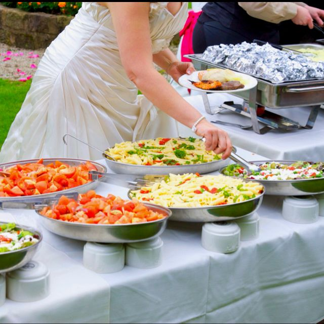 Wedding Reception Food Table Ideas: Wedding Reception Food