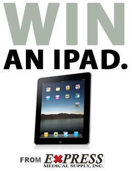 Win a new iPad from Express Medical Supply!