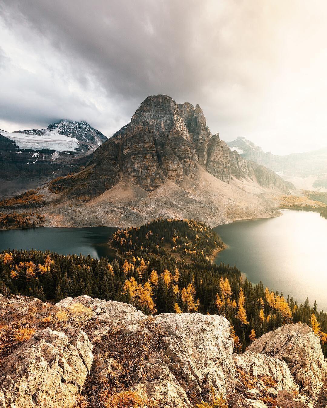 Mount Assiniboine Canadian Rockies Outdoors Adventure