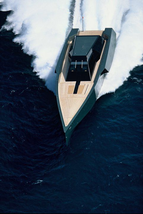 Wally Speed Boat Exterior