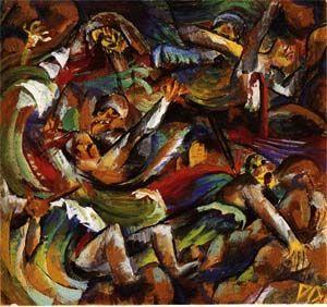 Otto Dix La Guerre Tranchees Entartete Kunst Beeldende Kunst Kunstgeschiedenis