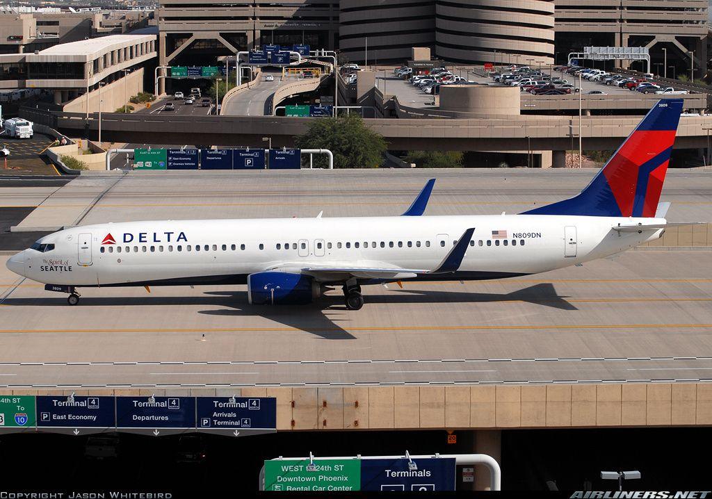 N809DN Delta Boeing 737-900ER