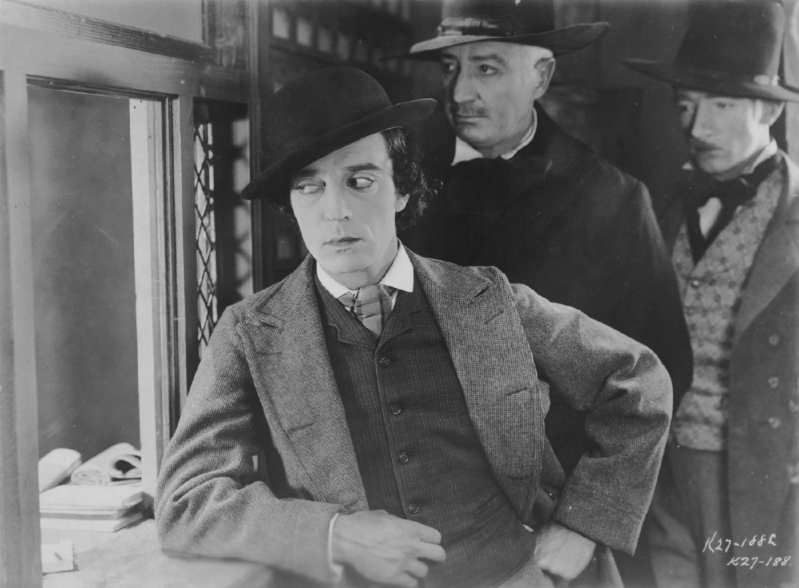 Buster Keaton in The General.... those eyes!!
