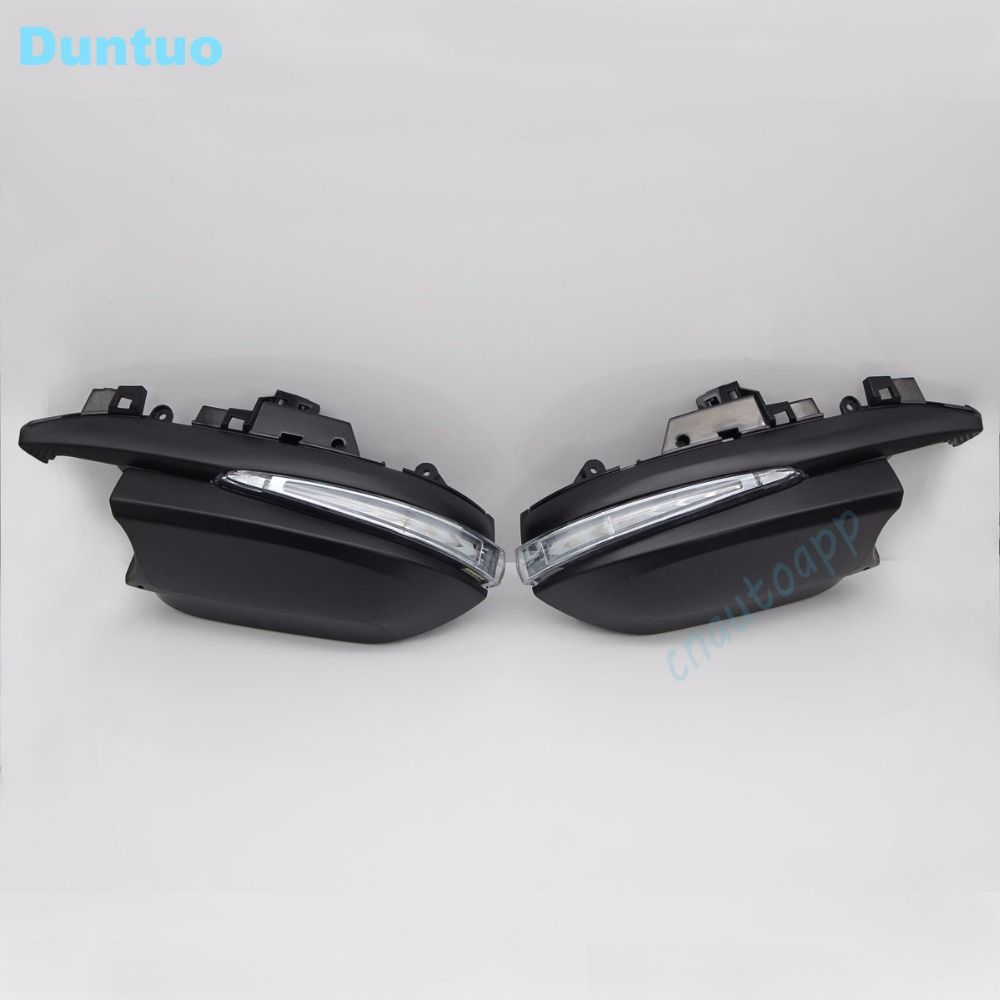 Rearview Mirror Light Led Side Turn Signals Lights Running Lamp Door Step Ground Light For 2015 2017 Toyota H Mirror With Lights Lights 2017 Toyota Highlander