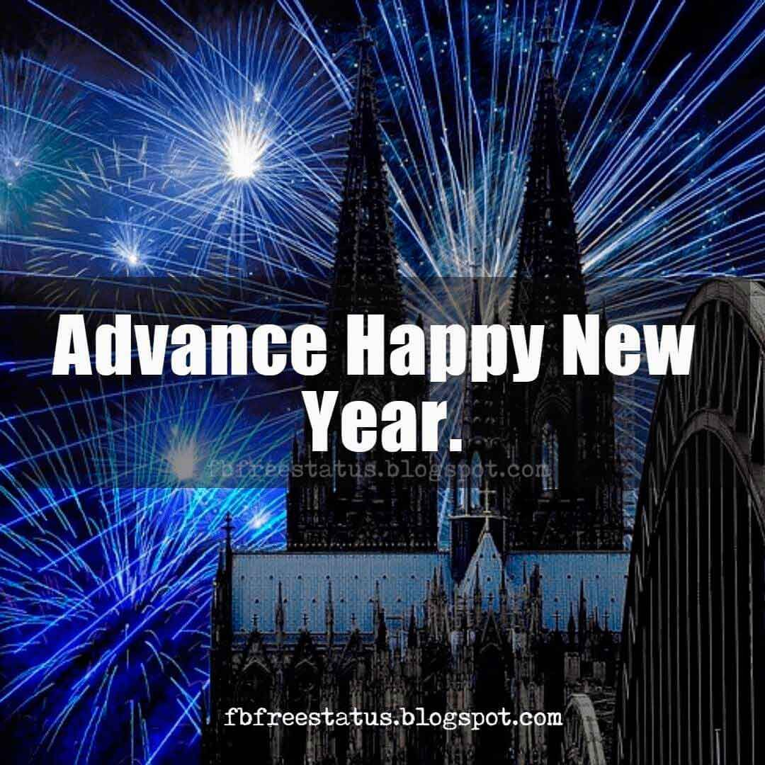 Advance Happy New Year 2018 Images Wishes And Quotes Messages