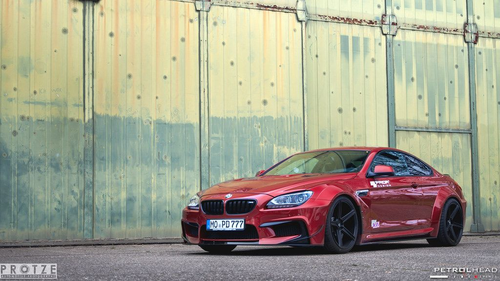 Insane Prior Design Widebody Based On A Bmw 6 Series By Protze