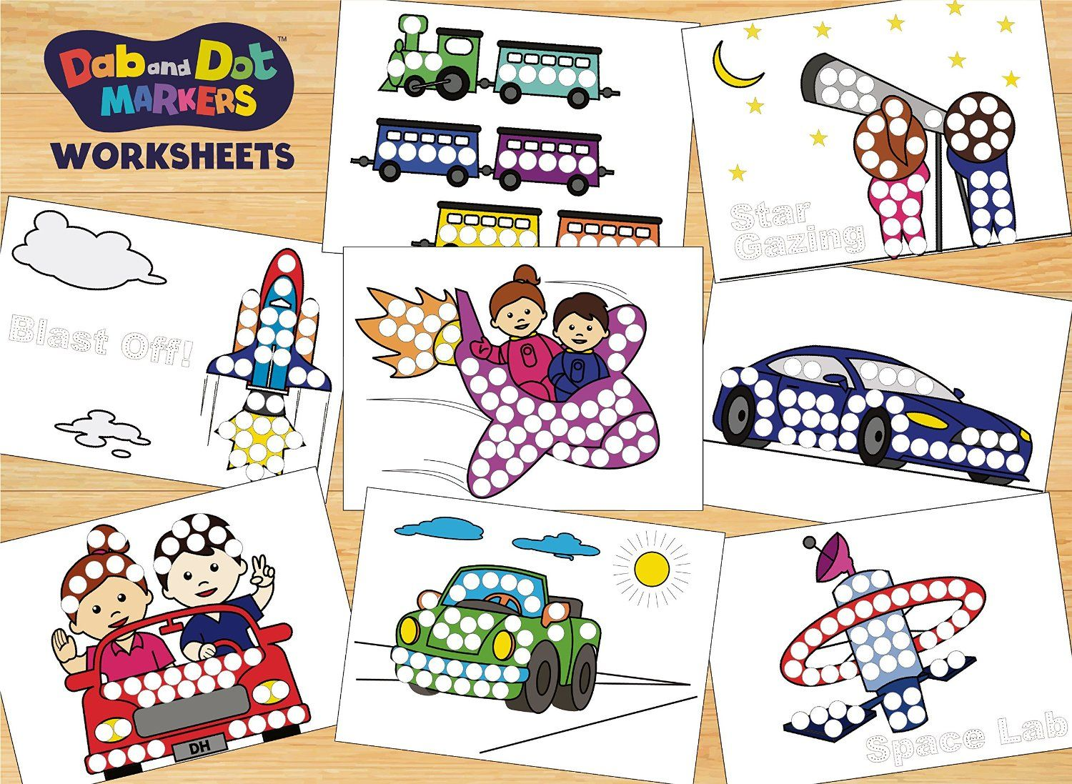 Pin By Doodle Hog On Dab And Dot Markers