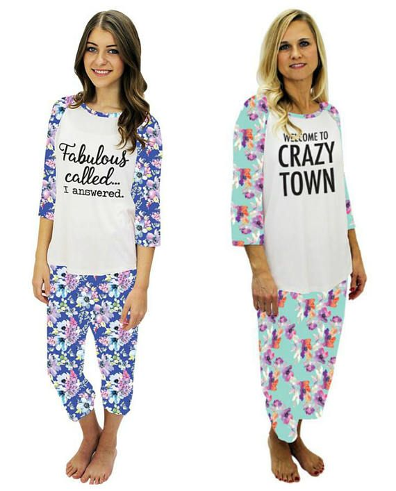 CLEARANCE Funny Pajamas for her e306a259b
