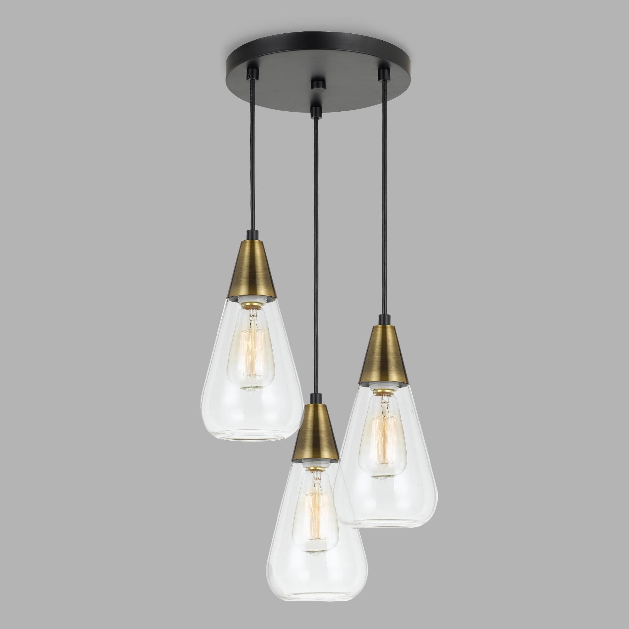 track lighting styles transitional lettuceveg our transitionalstyle chandelier features three clear glass teardrop shades at staggered heights with