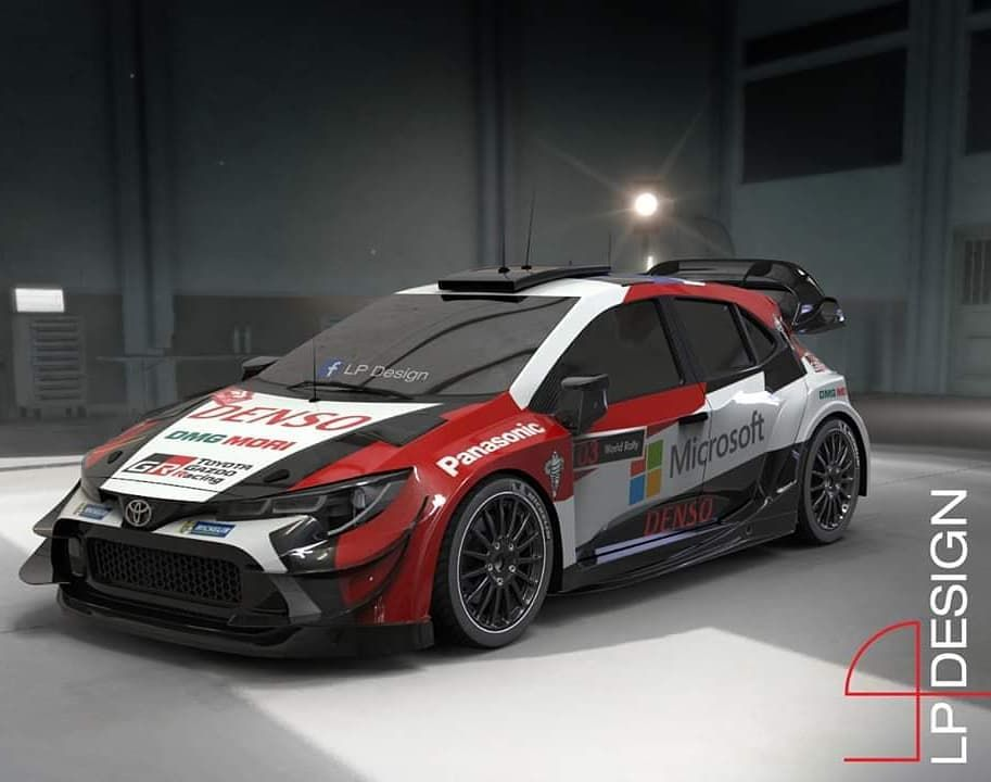 Toyota Corolla Gr Wrc Follow Espia Carros Rally