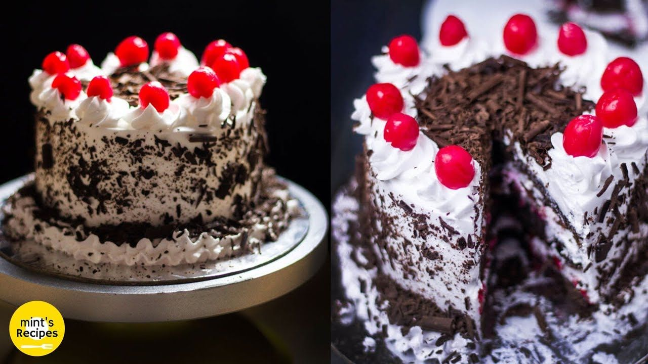 Black Forest Cake Eggless Cake Recipe In Cooker Cake Recipes