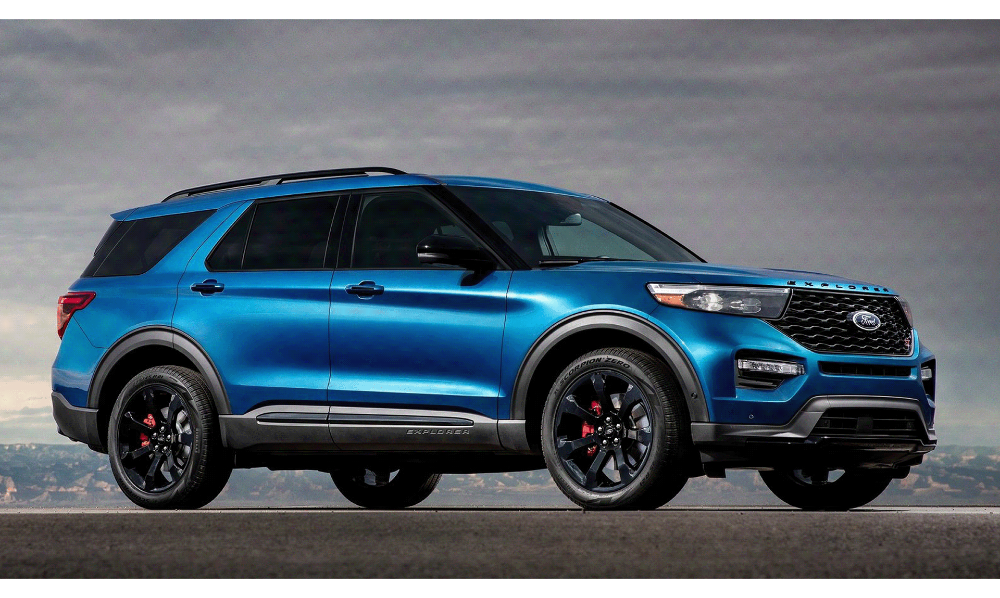 B O X Ford Explorer On Behance In 2020 2020 Ford Explorer Ford Explorer Ford Suv