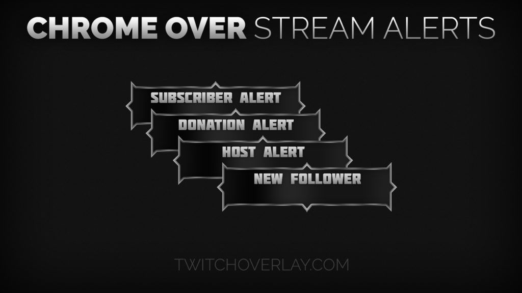 100 Free Twitch Alerts Download Twitch Overlay Template Twitch Streaming Alert