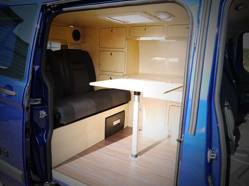kit amenagement fourgon camping car ford transit custom am nagement sur mesure d un fourgon. Black Bedroom Furniture Sets. Home Design Ideas