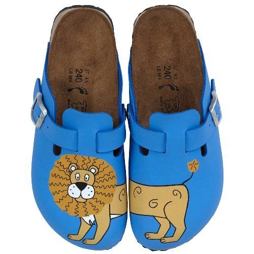 76fcc74442e Birkis clogs Woodby from Birko-Flor in Lion Blue with a narrow insole  Birki s.  51.64. 100% Genuine Birkenstocks. Brand new and Boxed.