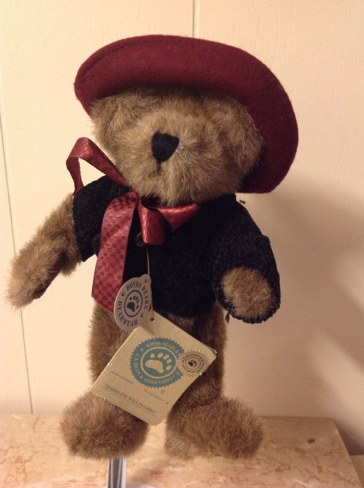 Boyds Bears 20th Anniversay Edition Retired Madeline Willoughby