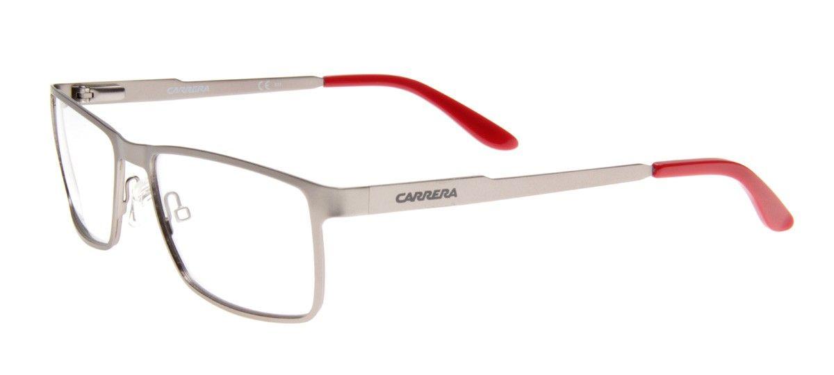 Carrera CA6630 Retangular - Armação Prata
