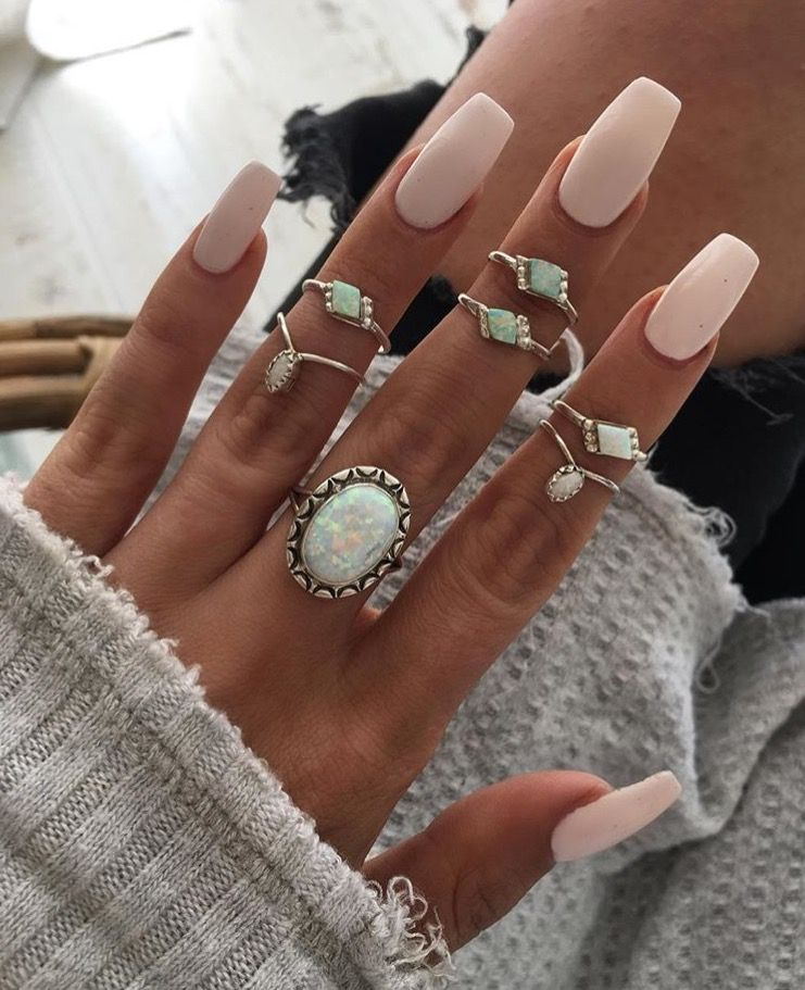 Pin by Roxannnne on NAILS DONE | Pinterest | Hair makeup, Nail inspo ...