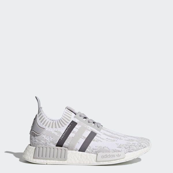 NMD R1 Primeknit Shoes Grey   Grey   Grey BY9865 size 11 08dfe27bb7