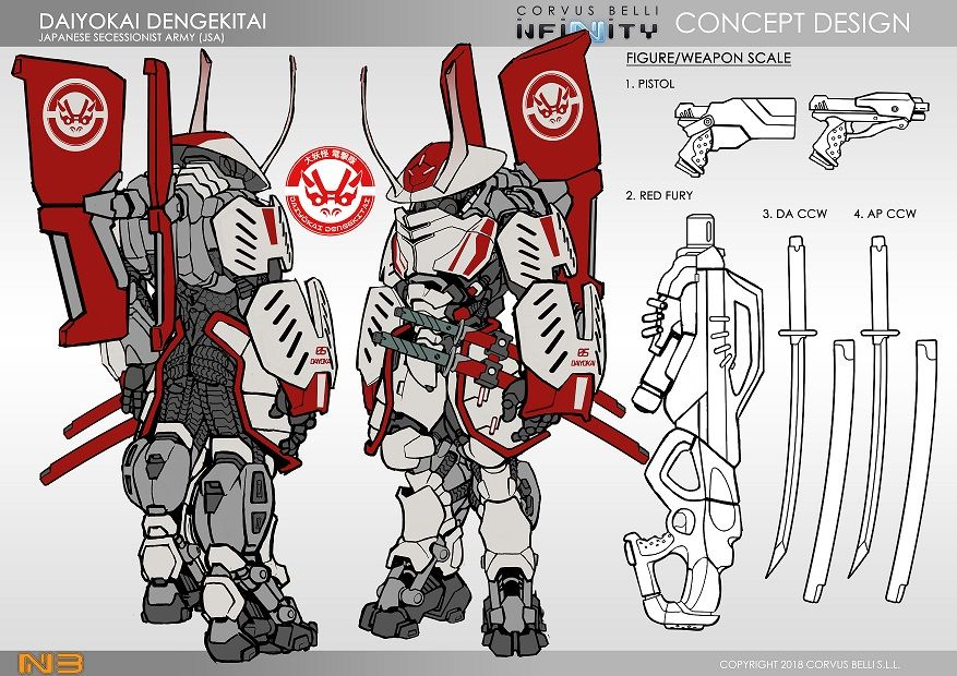 Infinity The Game   future robot design sketch in 2019