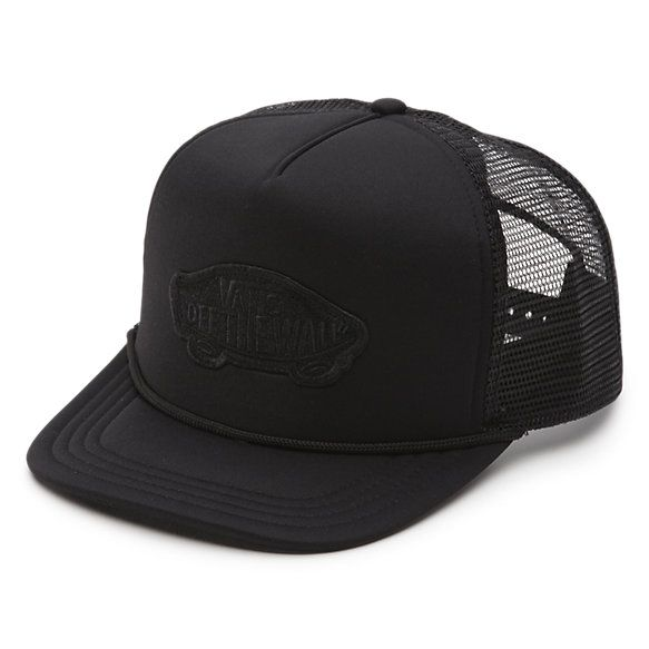The Classic Patch Trucker Hat is a 100% polyester mesh-back adjustable  trucker hat with a Vans Off The Wall logo patch. 8490e945c3