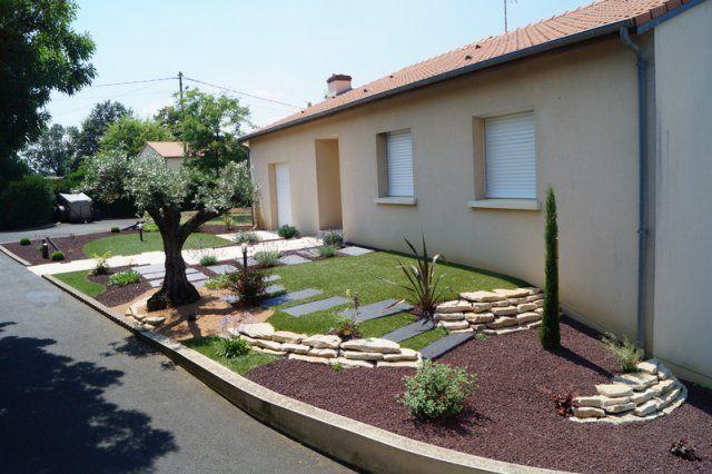 Bekannt Best Deco Jardin Devant Maison Photos - Seiunkel.us - seiunkel.us NX13