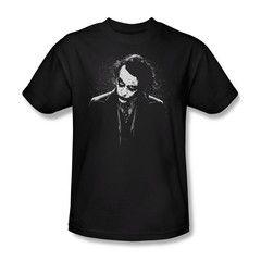 Batman Dark Knight Black & White Joker Mens T-Shirt $23.99 (includes free U.S. shipping)