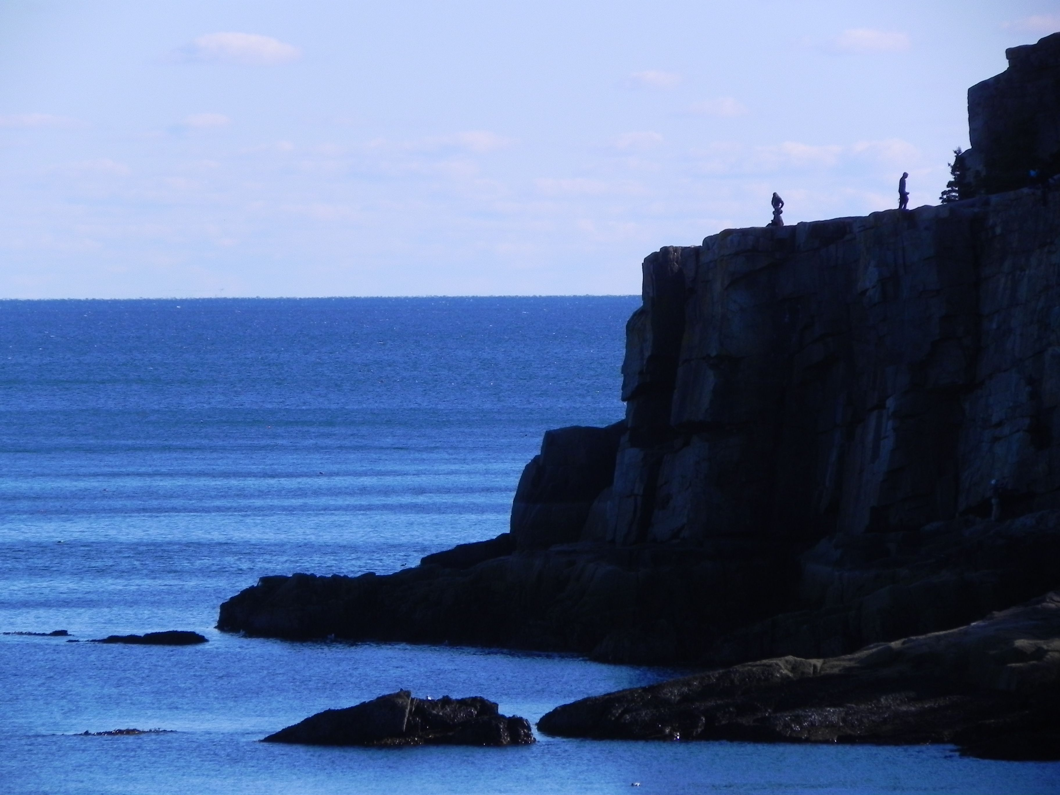 """""""Two Is A Crowd"""", Otter Point at Acadia National Park (Oct 13, 2012)"""