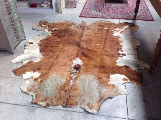 tappeto pelle mucca Niente di Nuovo, usato, antichità e