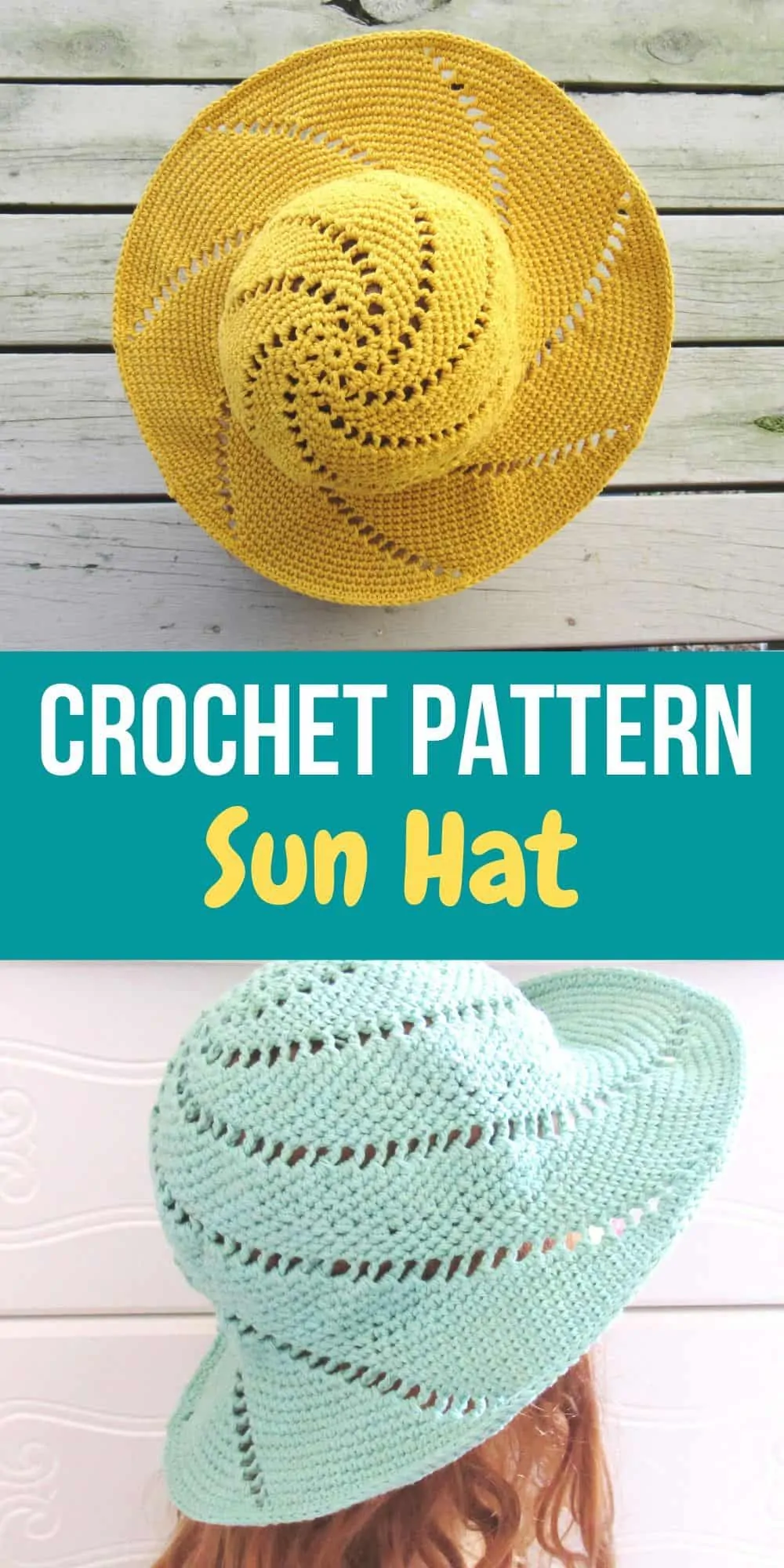 Sunsational Sun Hat, Crochet Pattern - Crochet Dreamz
