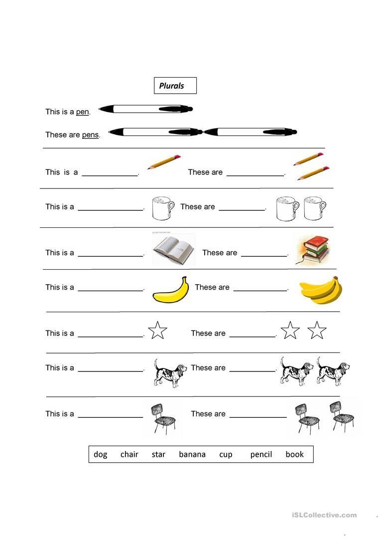 Plurals Plurals Nouns Worksheet Plural Nouns Worksheet [ 1079 x 763 Pixel ]