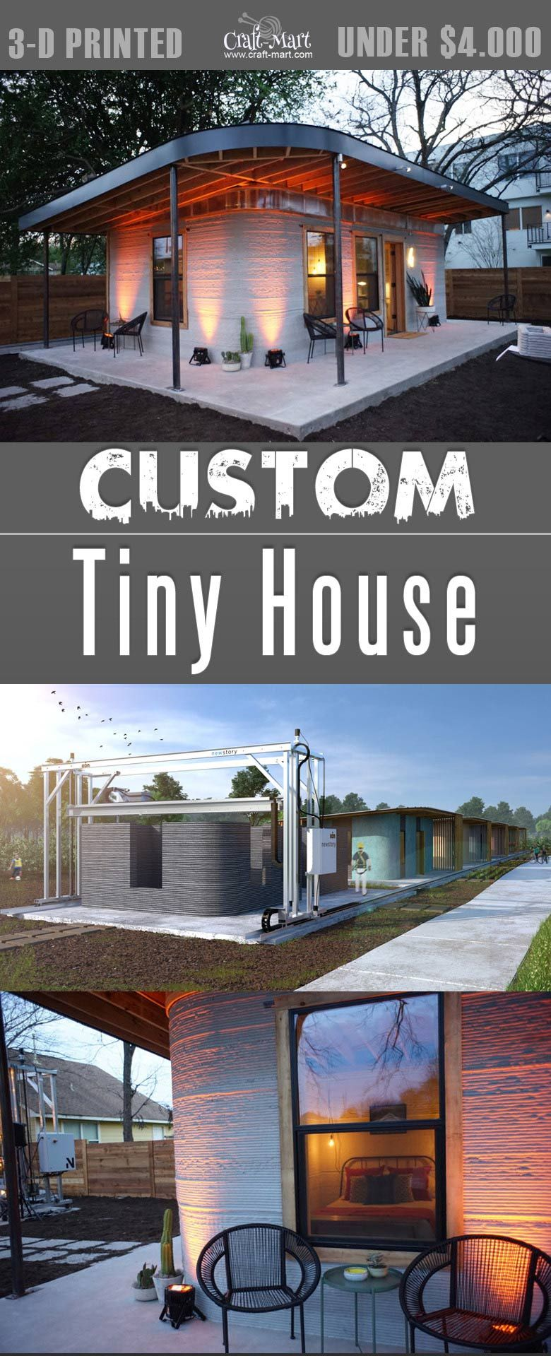 3 d printed custom tiny house that you