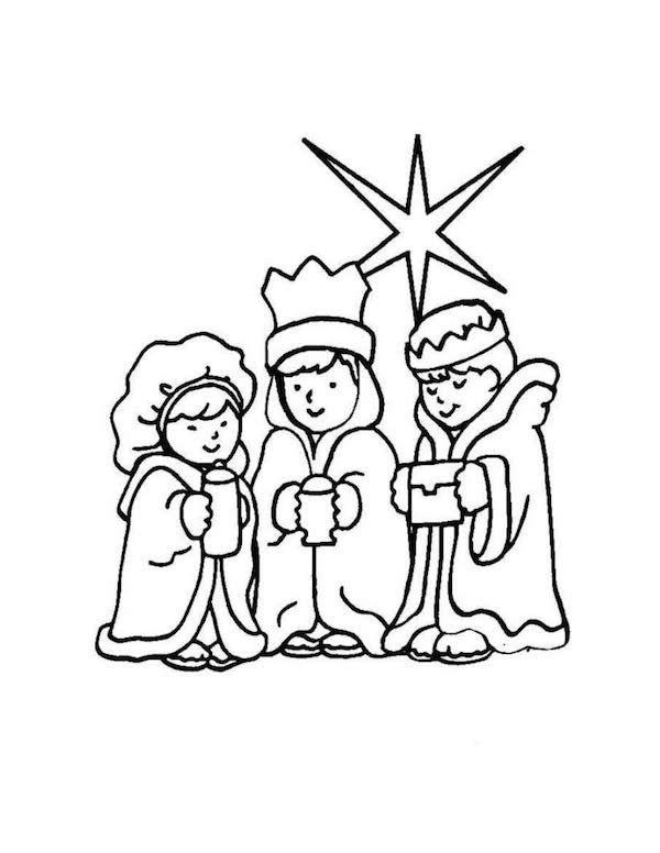 10 Dibujos De Los Reyes Magos Para Colorear Gratis Pequeocio Paginas Para Colorear Paginas Para Colorear De Navidad Rey Mago