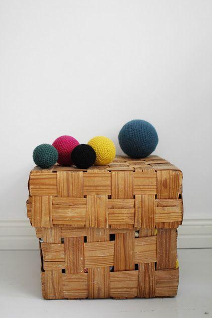 esferas tejidas