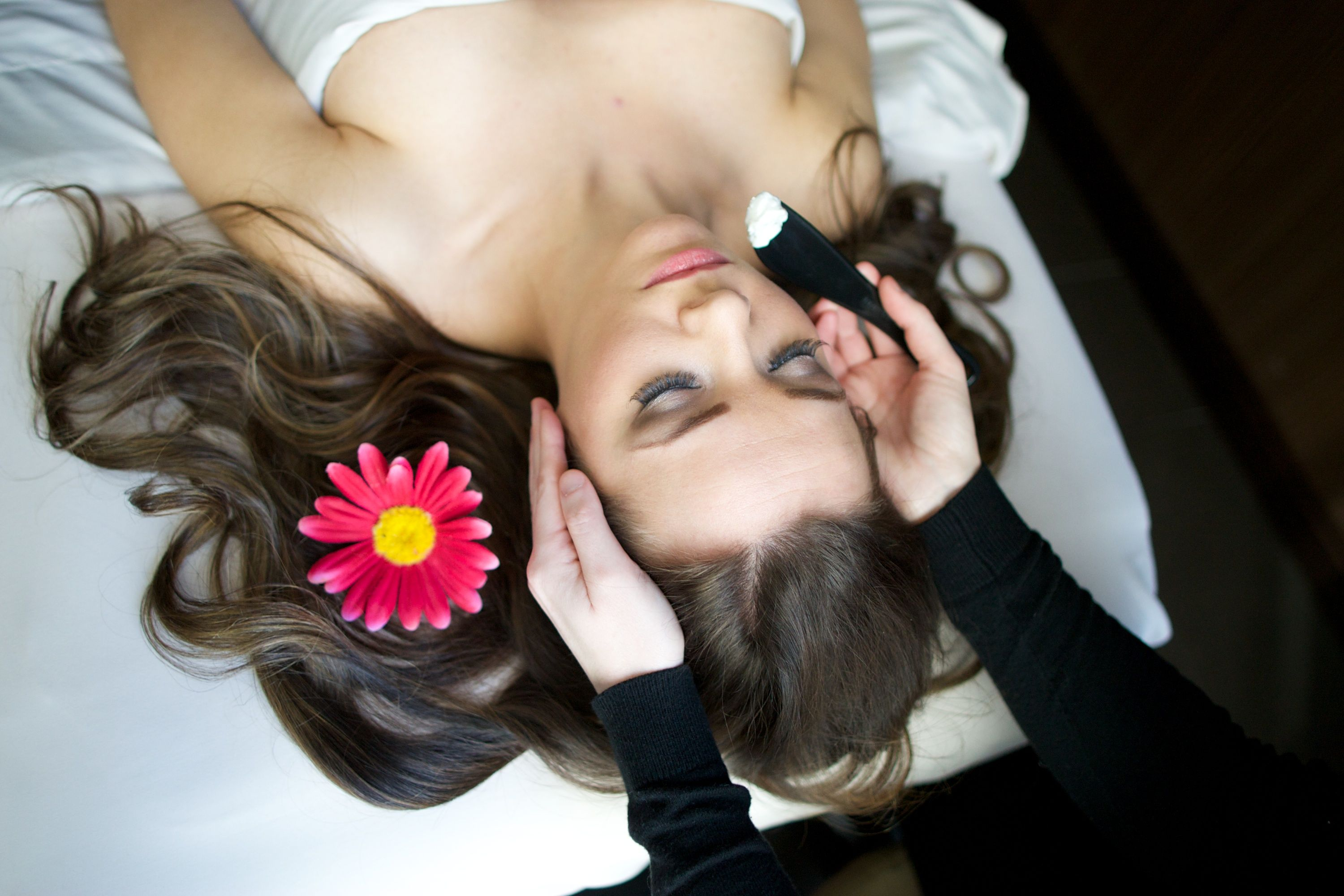 Indulge in our GO GLAM FACIAL - currently listed on our September Spa specials. This deep and firming facial is topped off with an eye, lip and decollette treatment along with a sugar scrub for hands and arms. It will definitely leave you glowing and feeling glamorous. visit us at spaatthewit.com